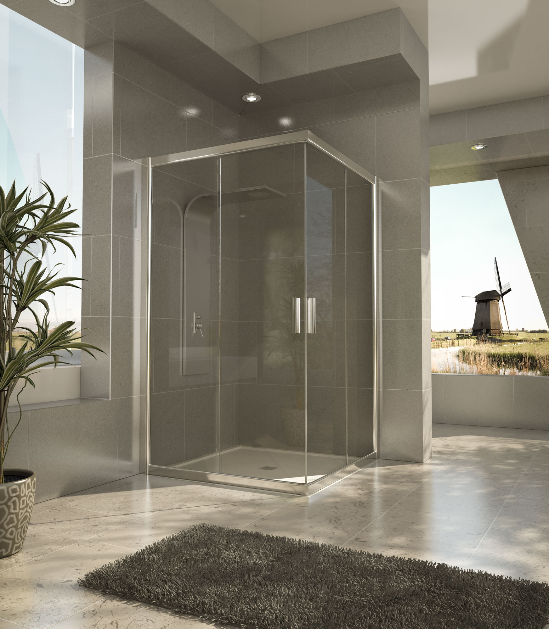 Mamparas de ducha mamparas de ducha baratas entradas - Mamparas de ducha de diseno ...