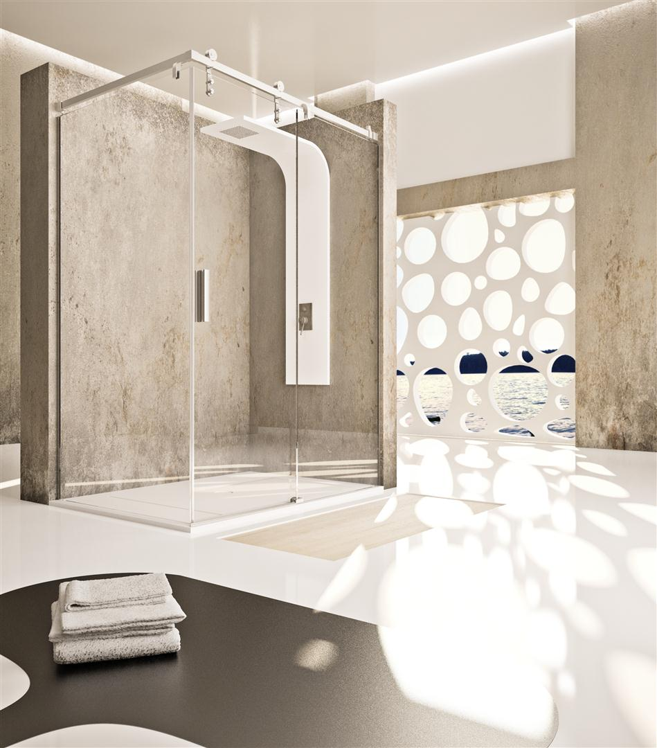 Mamparas de ducha correderas