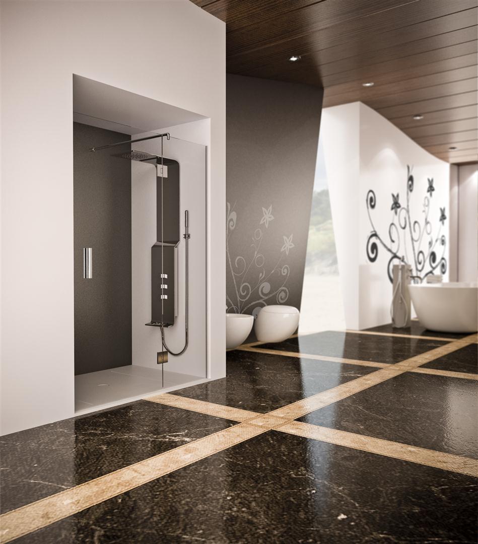 Mamparas de ducha abatibles