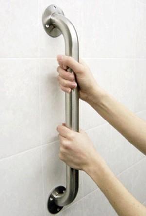 Barra de sujeción para el baño
